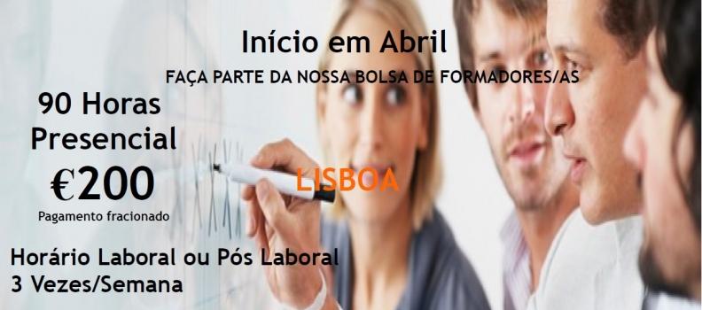 FORMAÇÃO PEDAGÓGICA INICIAL DE FORMADORES / AS